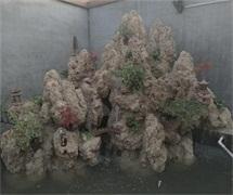 锦绣庭院假山