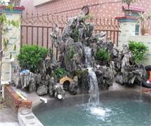 锦绣假山鱼池