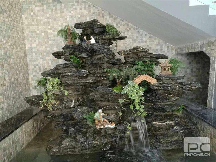 济南真石假山