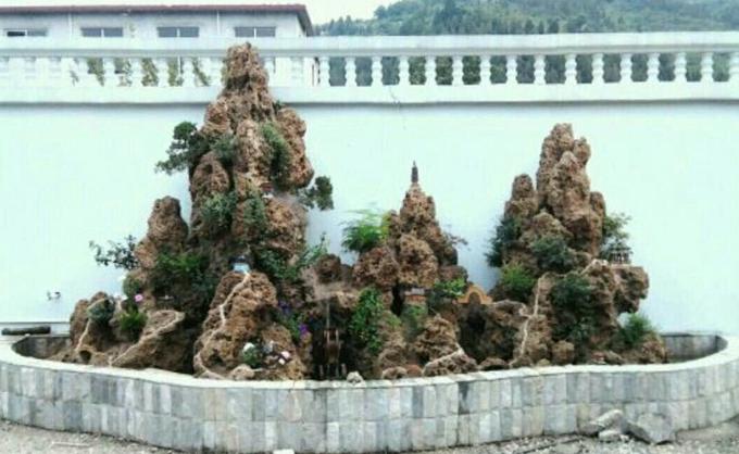 济南假山制作