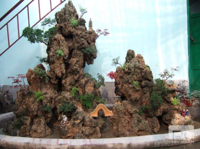 济南上水石假山